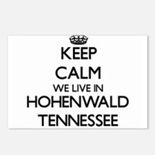 Keep calm we live in Hohe Postcards (Package of 8)