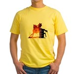 Turn 'n Burn Yellow T-Shirt