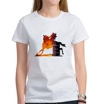 Turn 'n Burn Women's T-Shirt