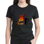 Turn 'n Burn Women's Dark T-Shirt