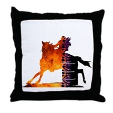 Turn 'n Burn Throw Pillow