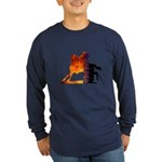 Turn 'n Burn Long Sleeve Dark T-Shirt