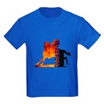 Turn 'n Burn Kids Dark T-Shirt