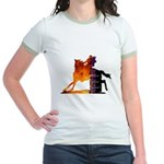 Turn 'n Burn Jr. Ringer T-Shirt