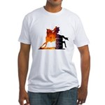 Turn 'n Burn Fitted T-Shirt