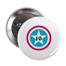"Super Star Numbers 2.25"" Button"