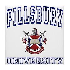 PILLSBURY University Tile Coaster