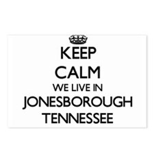 Keep calm we live in Jone Postcards (Package of 8)