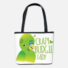Crazy Budgie Lady Bucket Bag