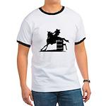 barrel racing silhouette Ringer T