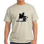 barrel racing silhouette Light T-Shirt
