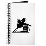 barrel racing silhouette Journal