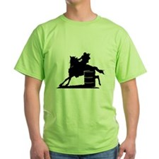 barrel racing silhouette T-Shirt