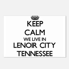 Keep calm we live in Leno Postcards (Package of 8)