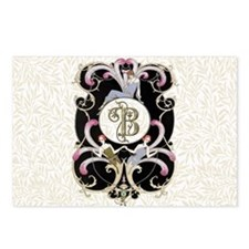 Monogram B Barbier Cabare Postcards (Package of 8)