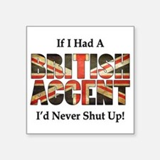 British Accent Sticker