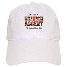 British Accent Baseball Baseball Cap
