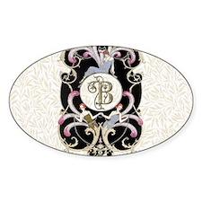 Monogram B Barbier Cabaret Decal