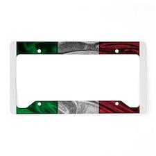 Italian Flag Graphic License Plate Holder