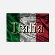 Italian Flag Graphic Magnets