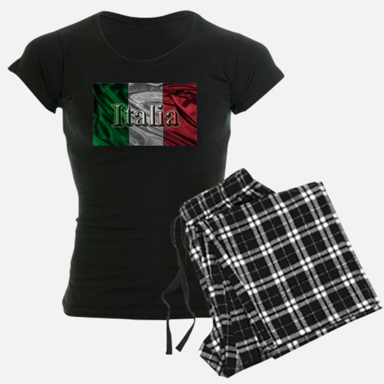 Italian Flag Graphic Pajamas