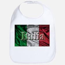 Italian Flag Graphic Bib