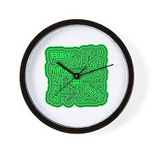 Cute Hussy Wall Clock