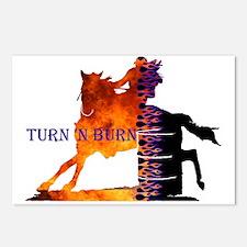 Turn 'n Burn Postcards (Package of 8)