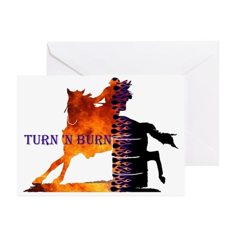 Turn 'n Burn Greeting Cards (Pk of 10)