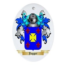 Jagger Ornament (Oval)