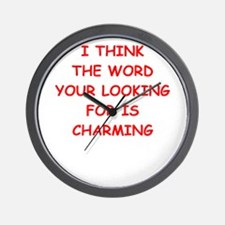 Cute Charm Wall Clock