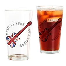British rock guitar Drinking Glass