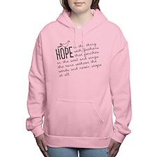 Hope Women's Hooded Sweatshirt