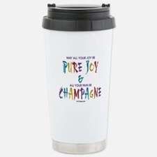 Champagne Stainless Steel Travel Mug