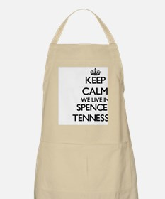 Keep calm we live in Spencer Tennessee Apron