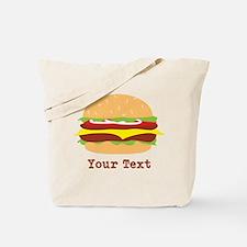 Hamburger, Cheeseburger Tote Bag