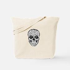 Radiology Terms Skull Tote Bag