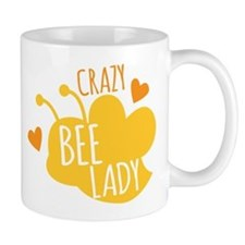 Crazy Bee Lady Mugs