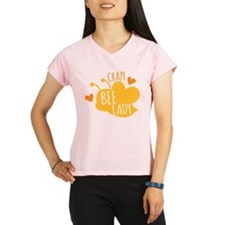 Crazy Bee Lady Performance Dry T-Shirt