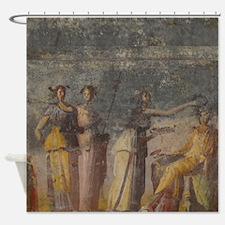 Pompeii Fresco Shower Curtain