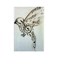 Songbird Rectangle Magnet