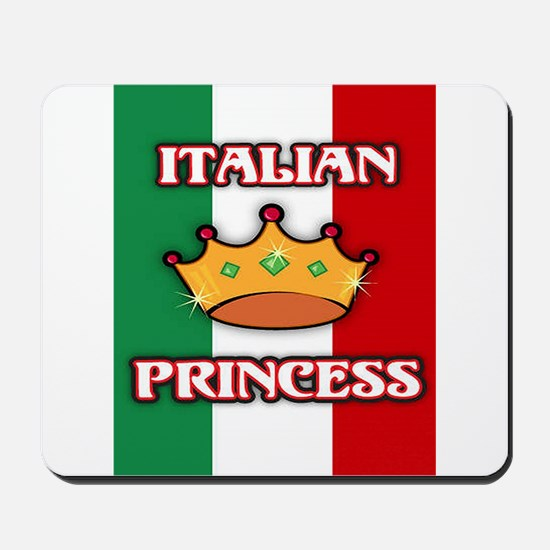 Italian Princess Mousepad