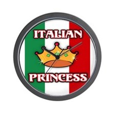 Italian Princess Wall Clock