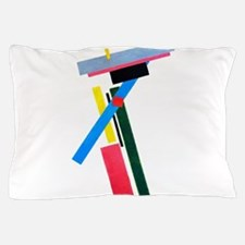 Malevich Abstract Rectangles Russian A Pillow Case