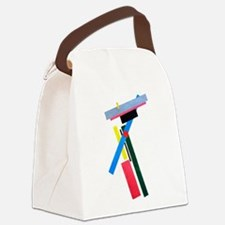 Malevich Abstract Rectangles Russ Canvas Lunch Bag
