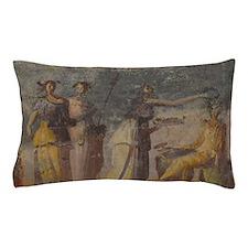 Pompeii Women Fresco Pillow Case