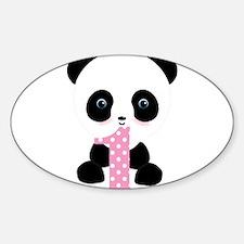 Panda Bear 1st Birthday Decal