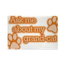 Grandcat Rectangle Magnet