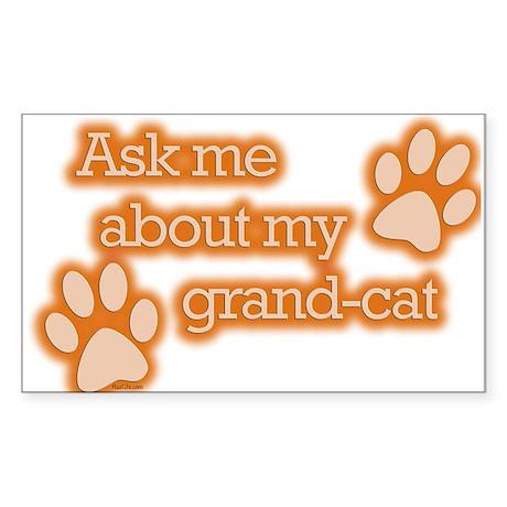 Grandcat Rectangle Sticker