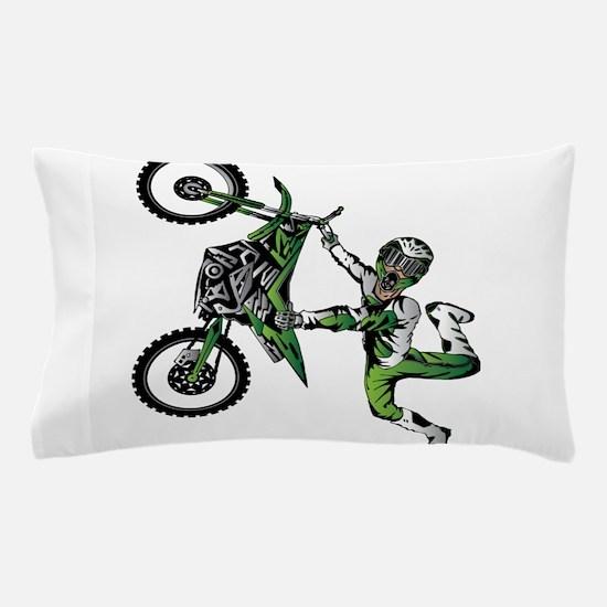 Cute Dirt biker Pillow Case